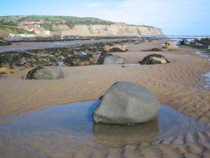 Boggle Hole to Robin Hood's Bay beach walk