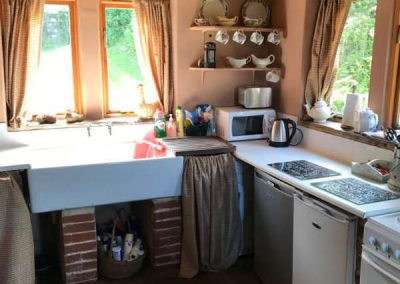 Traditional Kitchen at Holly Cottage Boggle Hole
