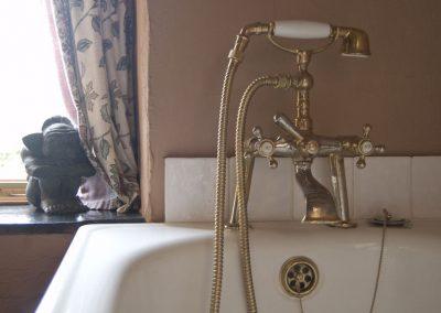 Cast Iron bath, Holly Cottage