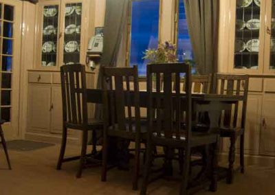 Holly Cottage dining room