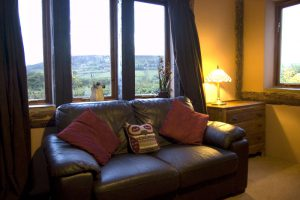 Lounge at Holly Cottage, Boggle Hole, North Yorkshire