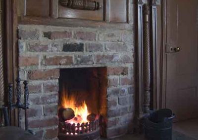 Real fire, Holly Cottage, North Yorkshire