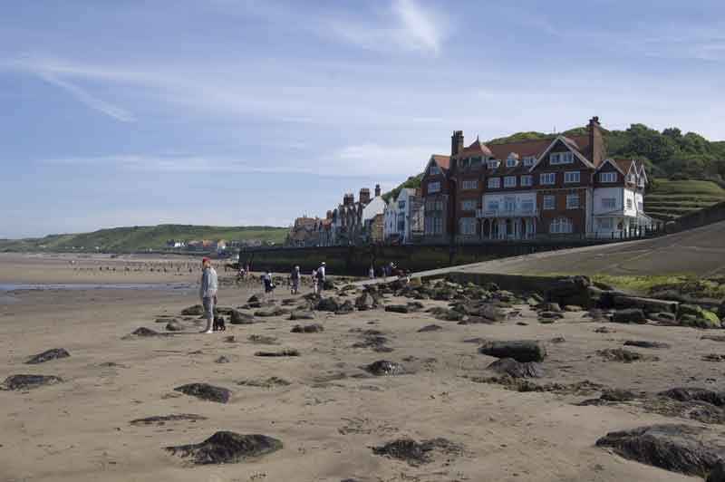 Sandend in perfect for family fun on the beach